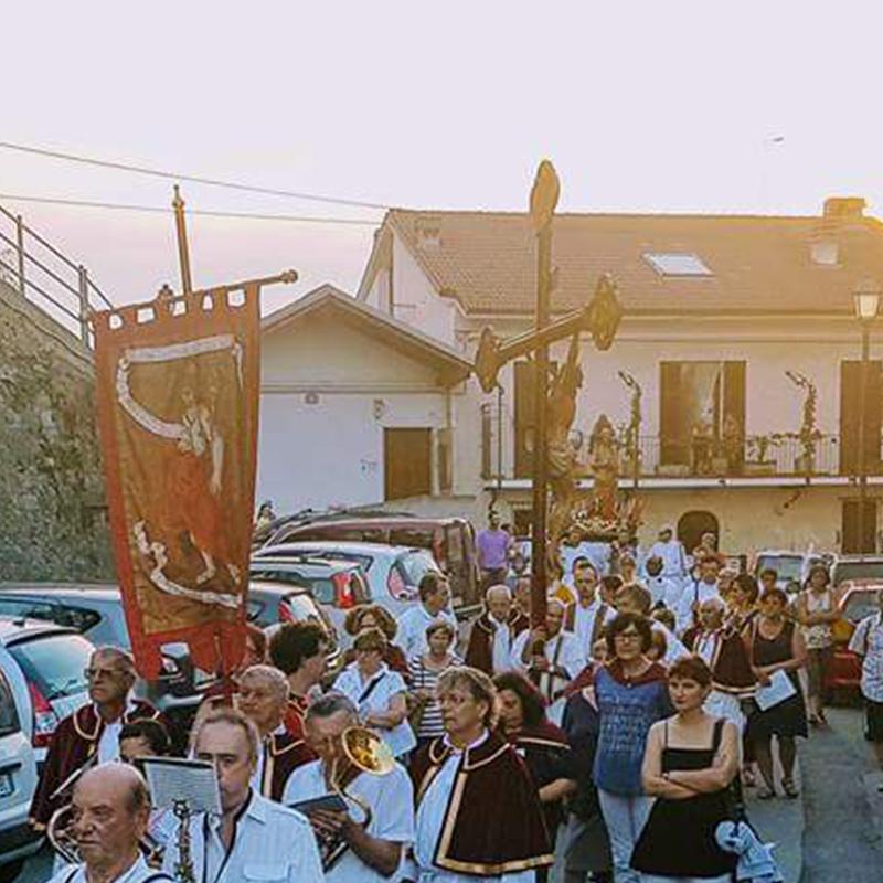 Processione San Giovanni Battista Cassinelle
